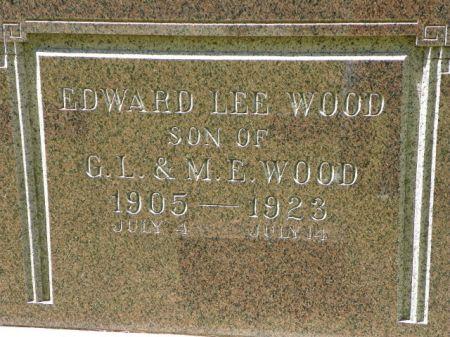 WOOD, EDWARD LEE - Hamilton County, Iowa   EDWARD LEE WOOD
