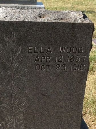 WOOD, ELLA - Hamilton County, Iowa   ELLA WOOD