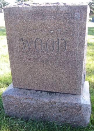 WOOD, FAMILY STONE - Hamilton County, Iowa | FAMILY STONE WOOD