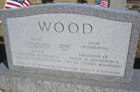 WOOD, MARY OLIVE - Hamilton County, Iowa   MARY OLIVE WOOD