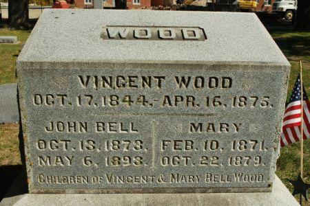 WOOD, JOHN BELL - Hamilton County, Iowa | JOHN BELL WOOD