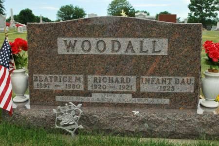 WOODALL, INFANT DAUGHTER - Hamilton County, Iowa | INFANT DAUGHTER WOODALL