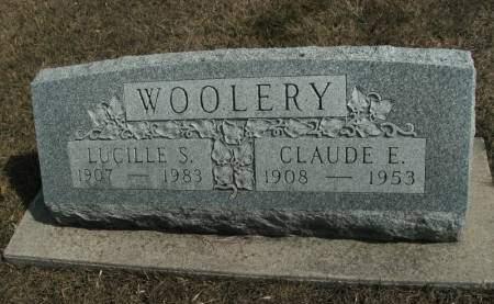 SCHNELL WOOLERY, LUCILLE S. - Hamilton County, Iowa   LUCILLE S. SCHNELL WOOLERY