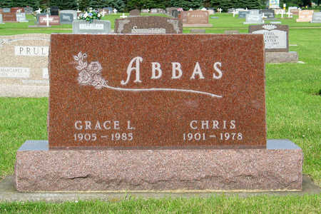 ABBAS, CHRIS - Hancock County, Iowa | CHRIS ABBAS