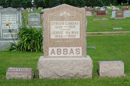 JÜRGENS ABBAS, JENNIE E - Hancock County, Iowa | JENNIE E JÜRGENS ABBAS