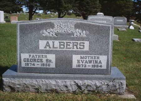 WIENTJES ALBERS, EVAWINA - Hancock County, Iowa   EVAWINA WIENTJES ALBERS