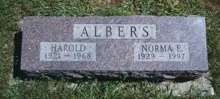 ALBERS, HAROLD - Hancock County, Iowa | HAROLD ALBERS