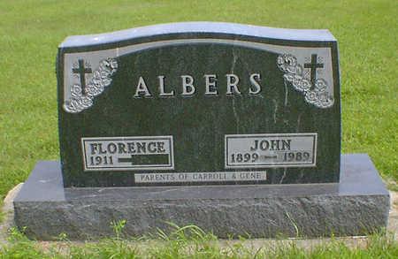 ALBERS, FLORENCE - Hancock County, Iowa | FLORENCE ALBERS