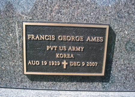 AMES, FRANCIS - Hancock County, Iowa | FRANCIS AMES