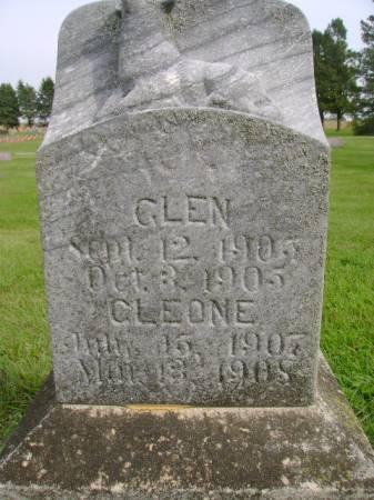 ANDERSON, GLEN - Hancock County, Iowa | GLEN ANDERSON