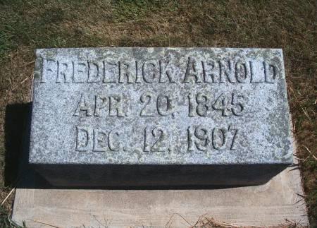 ARNOLD, FREDERICK - Hancock County, Iowa | FREDERICK ARNOLD