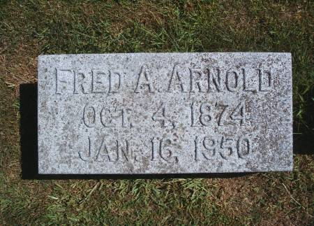 ARNOLD, FRED A - Hancock County, Iowa | FRED A ARNOLD