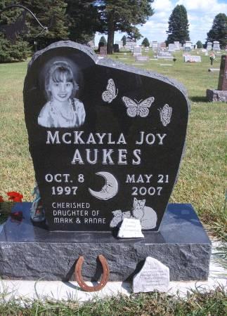 AUKES, MCKAYLA J - Hancock County, Iowa | MCKAYLA J AUKES