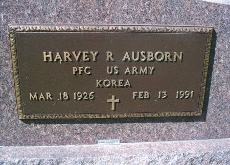 AUSBORN, HARVEY R - Hancock County, Iowa | HARVEY R AUSBORN