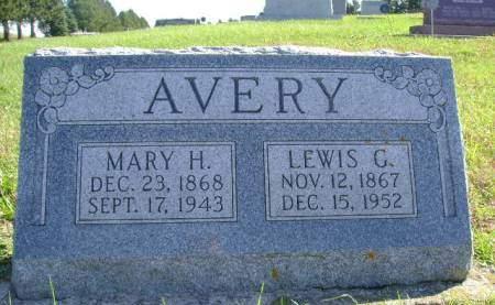 AVERY, MARY H - Hancock County, Iowa | MARY H AVERY