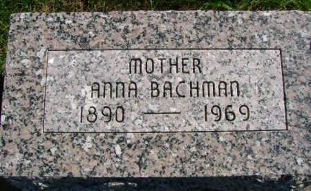 BACHMAN, ANNA - Hancock County, Iowa   ANNA BACHMAN