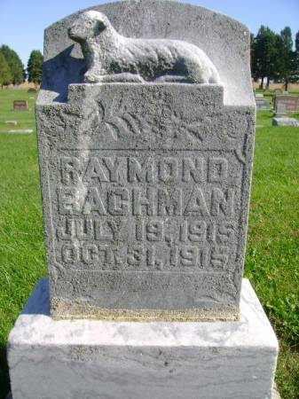 BACHMAN, RAYMOND - Hancock County, Iowa | RAYMOND BACHMAN