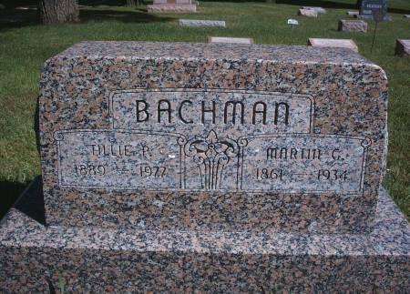 KRAUSE BACHMAN, TILLIE P - Hancock County, Iowa | TILLIE P KRAUSE BACHMAN