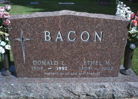 BACON, DONALD L - Hancock County, Iowa | DONALD L BACON