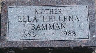 SCHULDT BAMMAN, ELLA H - Hancock County, Iowa | ELLA H SCHULDT BAMMAN