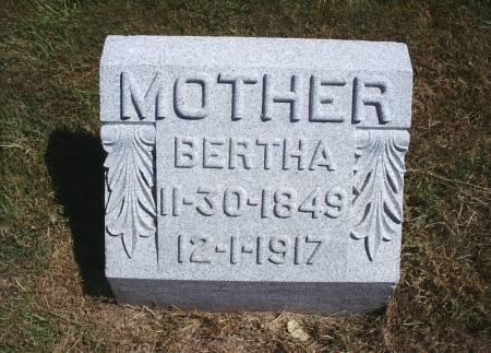 BARZ, BERTHA - Hancock County, Iowa | BERTHA BARZ