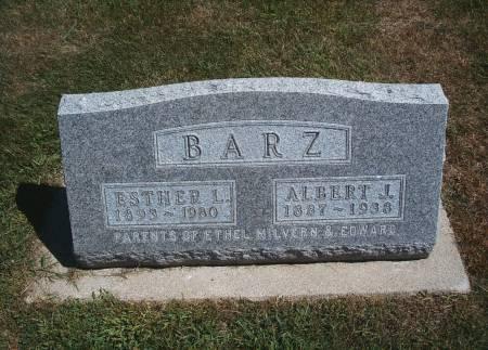 HARTBECK BARZ, ESTHER L - Hancock County, Iowa | ESTHER L HARTBECK BARZ
