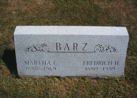 BARZ, FREDRICH H - Hancock County, Iowa | FREDRICH H BARZ