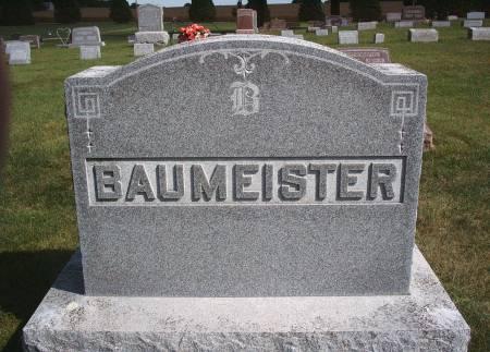 BAUMEISTER, FAMILY MONUMENT - Hancock County, Iowa   FAMILY MONUMENT BAUMEISTER