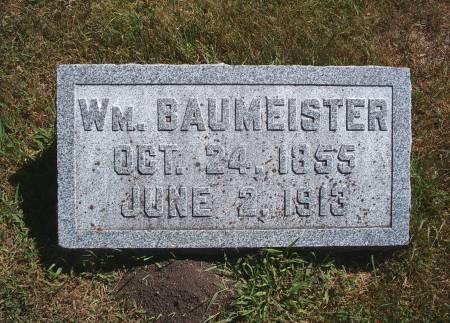 BAUMEISTER, WM - Hancock County, Iowa | WM BAUMEISTER