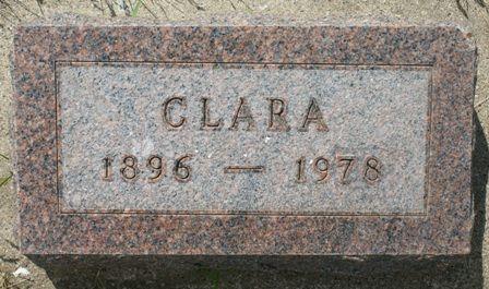 BECKER, CLARA - Hancock County, Iowa | CLARA BECKER