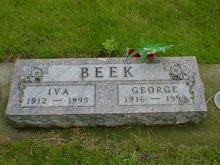 BEEK, GEORGE - Hancock County, Iowa | GEORGE BEEK