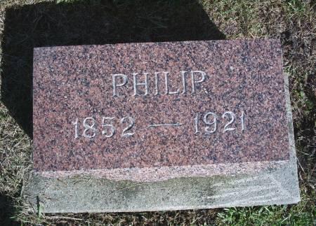 BEHRINGER, PHILIP - Hancock County, Iowa | PHILIP BEHRINGER