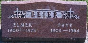 BEIER, FAYE - Hancock County, Iowa | FAYE BEIER