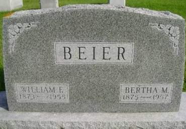 BEIER, BERTHA M - Hancock County, Iowa | BERTHA M BEIER