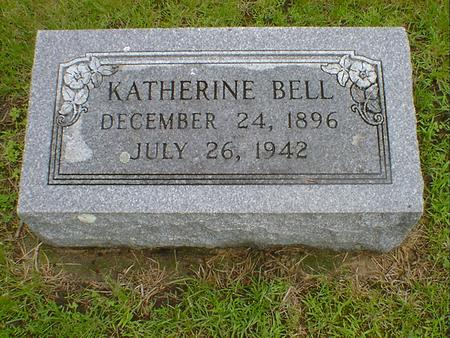 BELL, KATHERINE - Hancock County, Iowa | KATHERINE BELL