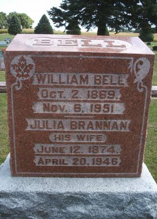BELL, JULIA - Hancock County, Iowa | JULIA BELL