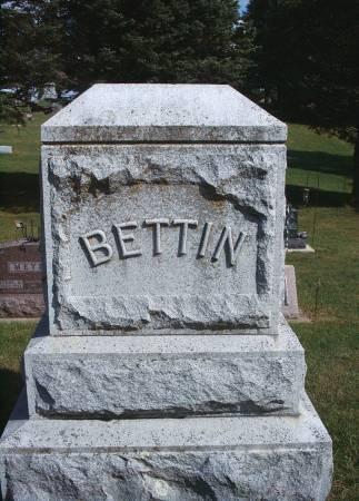 BETTIN, FAMILY MONUMENT - Hancock County, Iowa | FAMILY MONUMENT BETTIN