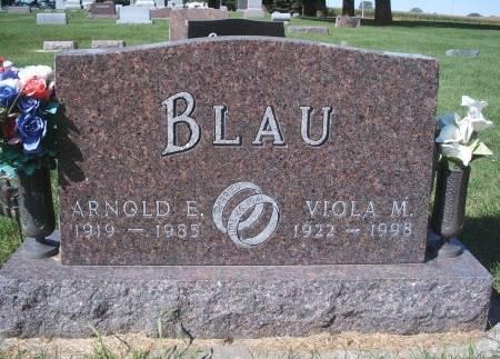 BLAU, VIOLA M - Hancock County, Iowa | VIOLA M BLAU