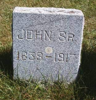 BOCK, JOHN SR - Hancock County, Iowa | JOHN SR BOCK