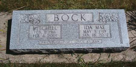 BOCK, MITCHELL - Hancock County, Iowa | MITCHELL BOCK