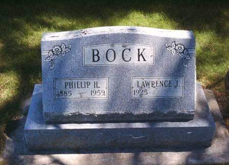 BOCK, PHILLIP H - Hancock County, Iowa | PHILLIP H BOCK