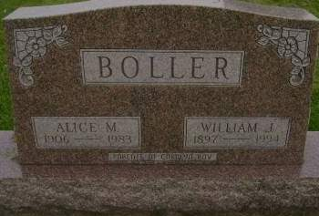 BOLLER, WILLIAM J - Hancock County, Iowa | WILLIAM J BOLLER