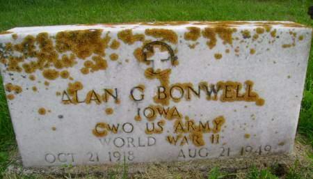 BONWELL, ALAN G - Hancock County, Iowa | ALAN G BONWELL