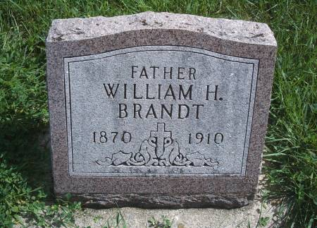 BRANDT, WILLIAM H - Hancock County, Iowa | WILLIAM H BRANDT