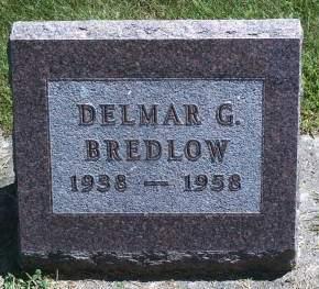 BREDLOW, DELMAR G - Hancock County, Iowa   DELMAR G BREDLOW