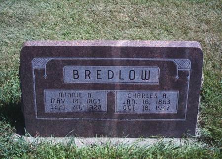 STILLE BREDLOW, MINNIE A - Hancock County, Iowa   MINNIE A STILLE BREDLOW