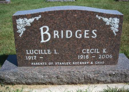 BRIDGES, CECIL K - Hancock County, Iowa   CECIL K BRIDGES