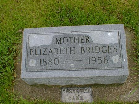 BRIDGES, ELIZABETH - Hancock County, Iowa   ELIZABETH BRIDGES