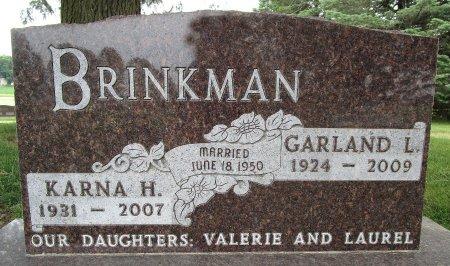 TULP BRINKMAN, KARNA H - Hancock County, Iowa | KARNA H TULP BRINKMAN