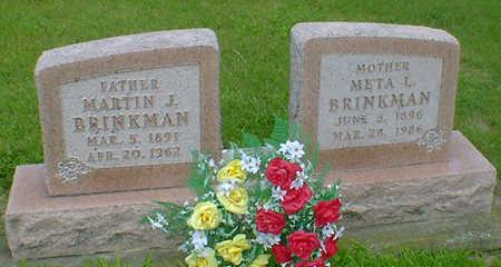 BRINKMAN, META L - Hancock County, Iowa | META L BRINKMAN